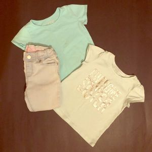Size 2t tops & bottom